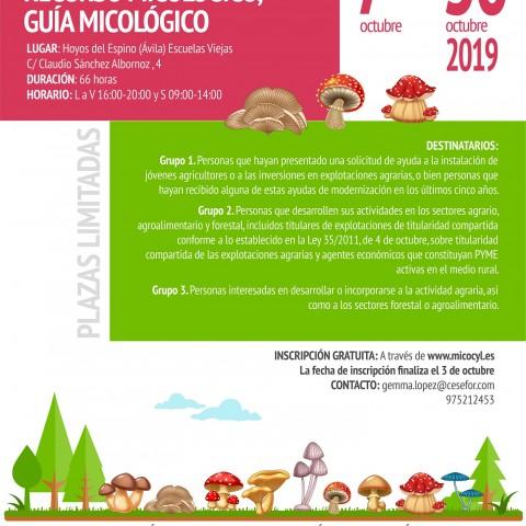 Curso de Especialización en la Gestión del Aprovechamiento micológico.